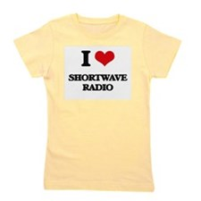 I Love Shortwave Radio Girl's Tee