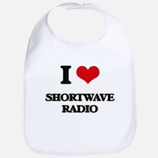 I Love Shortwave Radio Bib