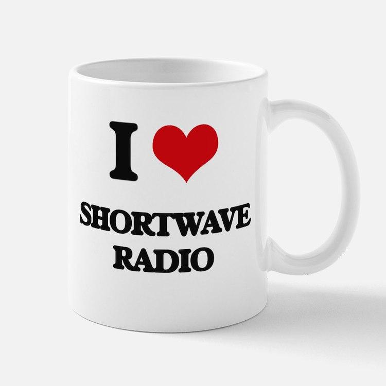 I Love Shortwave Radio Mugs