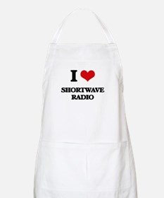 I Love Shortwave Radio Apron