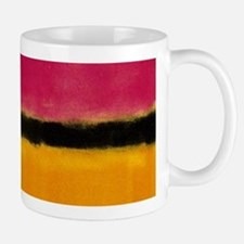 ROTHKO MAGENTA YELLOW BLACK 2 Mugs