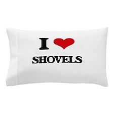 I Love Shovels Pillow Case