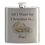 Christmas Pie Flask