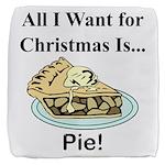 Christmas Pie Cube Ottoman