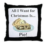 Christmas Pie Throw Pillow