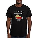 Christmas Pie Men's Fitted T-Shirt (dark)