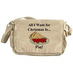 Christmas Pie Messenger Bag