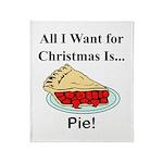 Christmas Pie Throw Blanket