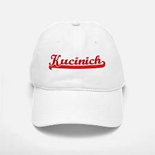 Kucinich (retro-sport-red) Baseball Baseball Cap