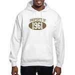 Property of 1961 Hooded Sweatshirt
