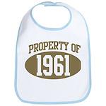 Property of 1961 Bib