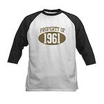 Property of 1961 Kids Baseball Jersey