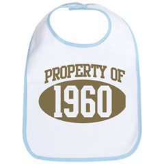 Property of 1960 Bib