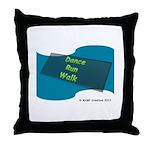 Dance Run Walk #2 By Mamp Creations! Throw Pillow