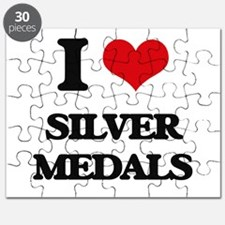 I Love Silver Medals Puzzle