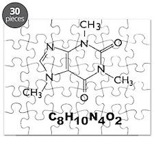 Caffeine Molecule Puzzle
