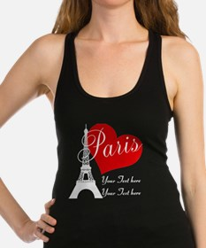 Cute Paris Racerback Tank Top