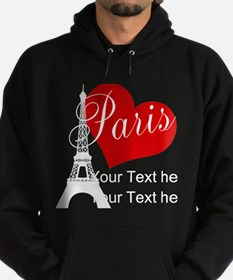 Cute Travel france Hoodie