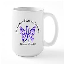 Huntington's Butterfly 6.1 Mug