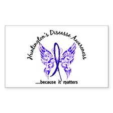 Huntington's Butterfly 6.1 Decal