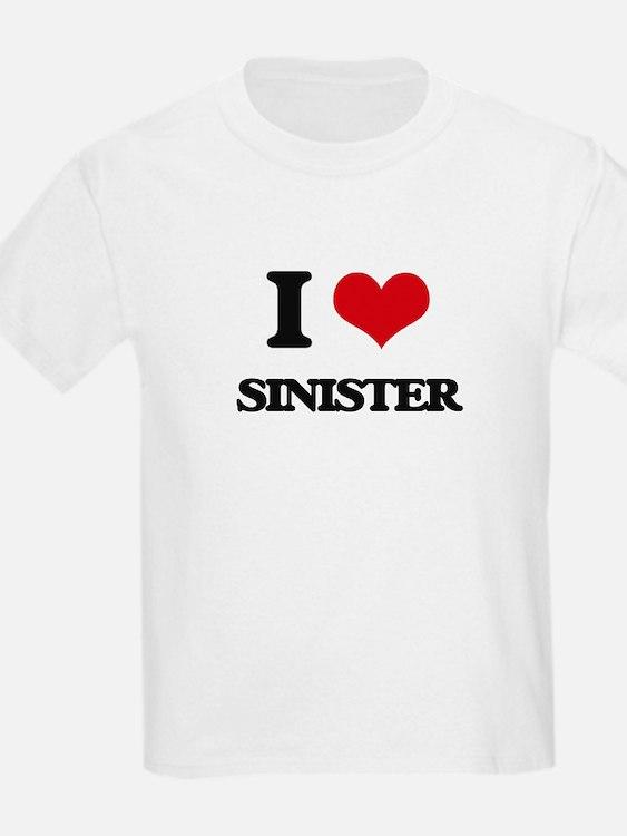 I Love Sinister T-Shirt