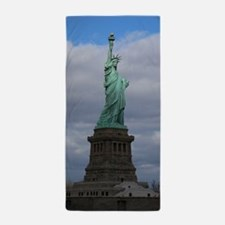 Statue of Liberty NYC Beach Towel
