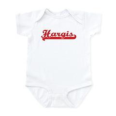 Hargis (retro-sport-red) Infant Bodysuit