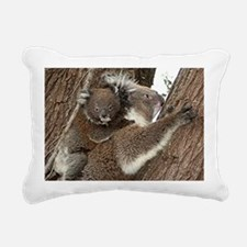 Cute Australian koala mo Rectangular Canvas Pillow