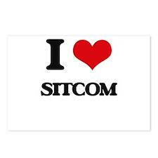 I Love Sitcom Postcards (Package of 8)