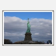Statue of Liberty NYC Banner