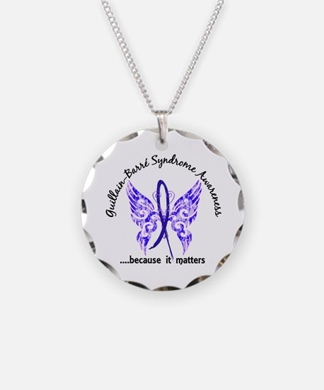 Guillain Barre Butterfly 6.1 Necklace