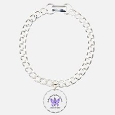 Guillain Barre Butterfly Charm Bracelet, One Charm