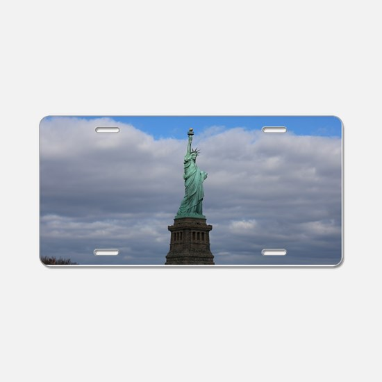 Statue of Liberty NYC Aluminum License Plate