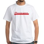 Greenspon (retro-sport-red) White T-Shirt
