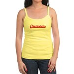 Greenspon (retro-sport-red) Jr. Spaghetti Tank