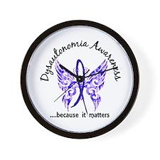 Dysautonomia Butterfly 6.1 Wall Clock