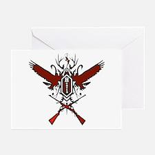 Hunter red logo Greeting Cards (Pk of 10)
