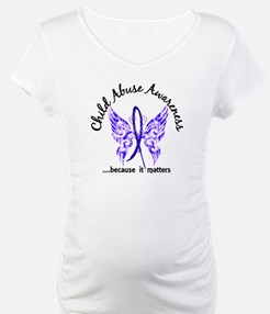 Child Abuse Butterfly 6.1 Shirt