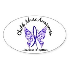 Child Abuse Butterfly 6.1 Decal