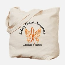 Kidney Cancer Butterfly 6.1 Tote Bag