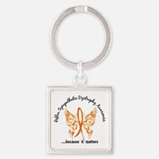 RSD Butterfly 6.1 Square Keychain