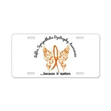 RSD Butterfly 6.1 Aluminum License Plate