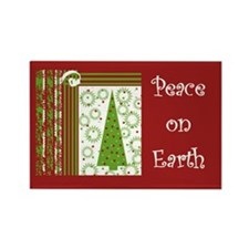 Peace on Earth Rectangle Magnet (10 pack)