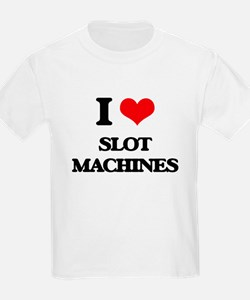 I love Slot Machines T-Shirt