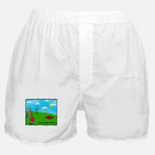 Stick People Party Boxer Shorts