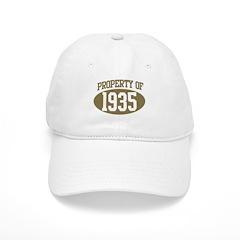 Property of 1935 Baseball Cap