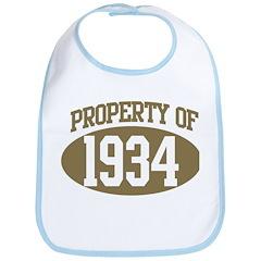 Property of 1934 Bib