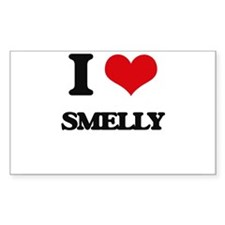 I love Smelly Decal