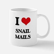 I love Snail Mails Mugs