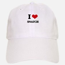 I love Snatch Baseball Baseball Cap